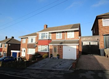 Thumbnail 4 bed semi-detached house for sale in Green Oak Drive, Sheffield