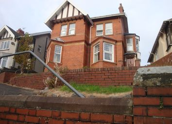 Thumbnail 3 bedroom flat to rent in Eversley Road, Sketty, Swansea