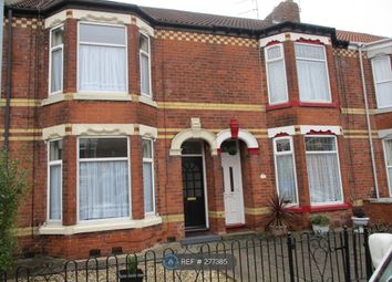 Thumbnail 3 bed terraced house to rent in Westcott Street, Hull