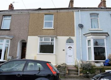 Thumbnail 2 bed terraced house for sale in Bayview Terrace, Swansea