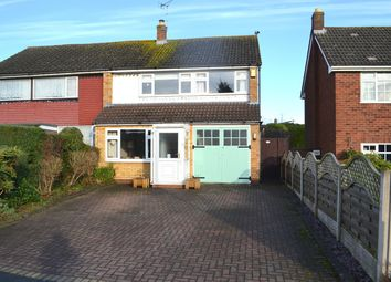 Thumbnail 3 bed semi-detached house for sale in Ferndale Road, Lichfield