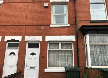 Thumbnail 2 bedroom terraced house to rent in Broomfield Road, Coventry