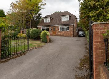 Thumbnail 4 bed detached house to rent in Barkham Road, Wokingham