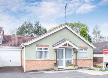 Thumbnail 3 bed detached bungalow for sale in Anthony Drive, Thurnby, Leicester