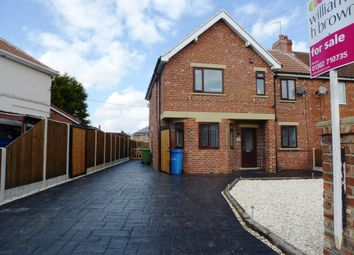 Thumbnail 4 bed end terrace house for sale in Shrewsbury Road, Bircotes, Doncaster