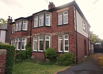 Thumbnail 3 bed semi-detached house for sale in Worsley Road, Lytham St. Annes