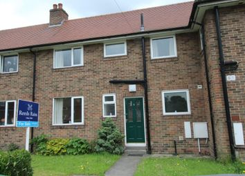 Thumbnail 2 bed terraced house for sale in St. Wilfrids Close, Strensall, York