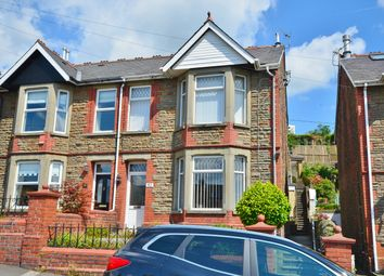 Thumbnail 3 bed semi-detached house for sale in Tydfil Road, Bedwas, Caerphilly