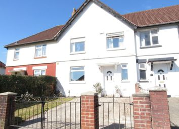 Thumbnail 3 bedroom terraced house to rent in Redhouse Road, Cardiff