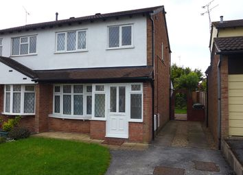 Thumbnail 3 bed semi-detached house to rent in Fordwell Close, Chapelfields, Coventry, West Midlands