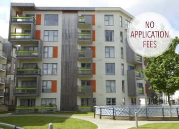 Thumbnail 2 bed flat to rent in Aqua Building, Glenalmond Avenue, Cambridge