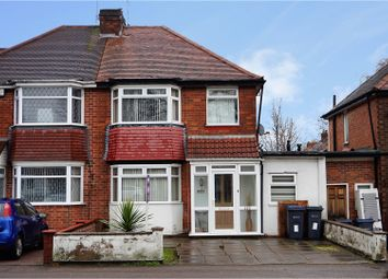 Thumbnail 3 bed semi-detached house for sale in Brook Lane, Birmingham