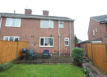 Thumbnail 2 bed semi-detached house for sale in Fletcher Road, Burbage, Hinckley