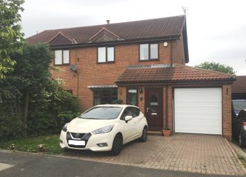 Thumbnail 3 bed semi-detached house for sale in Harwood Court, Trimdon Grange, Trimdon Station