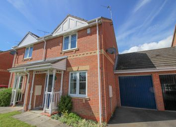 Thumbnail 2 bed semi-detached house to rent in Hallgate Close, Oakwood, Derby