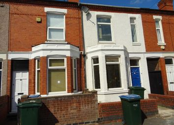 Thumbnail 4 bedroom terraced house to rent in Hugh Road, Stoke, Coventry