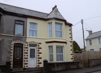 Thumbnail 4 bed semi-detached house for sale in Fore Street, Bugle, St. Austell