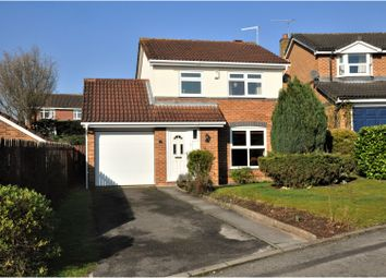 Thumbnail 3 bed detached house for sale in Finchway, Leicester