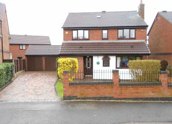 Thumbnail 4 bed detached house for sale in Portland Grove, Haslington, Crewe, Cheshire