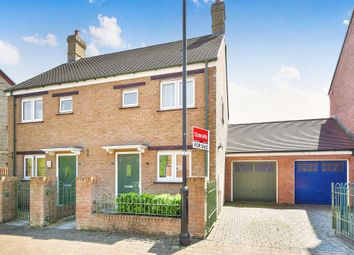 Thumbnail 2 bed semi-detached house for sale in Fernacre Road, Swindon