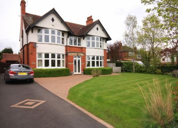 Thumbnail 4 bed detached house for sale in Manor Avenue, Crewe