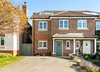 Thumbnail 3 bed semi-detached house for sale in Hatch Place, Lower Road, Cookham, Maidenhead