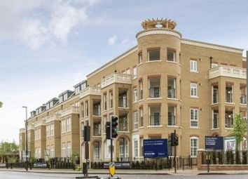 Thumbnail 2 bed flat for sale in Hampton Row, Woking Close, London