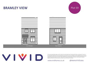 Thumbnail 2 bed terraced house for sale in Vivid @ Bramley View, Bramley, Tadley