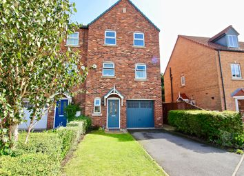 Thumbnail 4 bedroom town house for sale in Mallard Chase, Hatfield, Doncaster