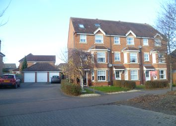 Thumbnail 3 bed town house to rent in Hartland Avenue, Milton Keynes