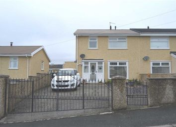 Thumbnail 3 bed semi-detached house for sale in Wallhead Road, Merthyr Tydfil