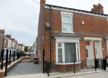 Thumbnail 3 bedroom end terrace house for sale in Estcourt Street, Hull