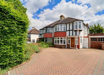 Thumbnail 3 bed semi-detached house for sale in Fir Tree Road, Epsom