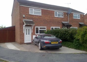 Thumbnail 2 bedroom semi-detached house to rent in Ettrick Drive, Sinfin, Derby