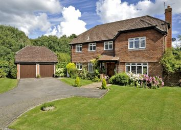 Thumbnail 4 bed detached house for sale in Rowly Edge, Rowly, Cranleigh