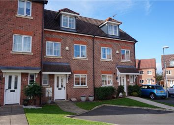 Thumbnail 4 bed town house for sale in Cwrt Y Terfyn, Chester