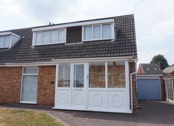 Thumbnail 3 bed semi-detached bungalow for sale in Mildenhall, Tamworth