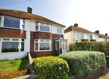 Thumbnail 3 bed semi-detached house to rent in Hillview Road, Brighton