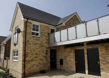 "Thumbnail 1 bed semi-detached house for sale in ""Onyx"" at Carters Lane, Kiln Farm, Milton Keynes"