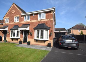 Thumbnail 3 bed semi-detached house for sale in Woodburn Grove, Penwortham, Preston
