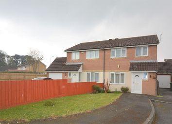 Thumbnail Semi-detached house for sale in Laureate Close, Llanrumney, Cardiff.