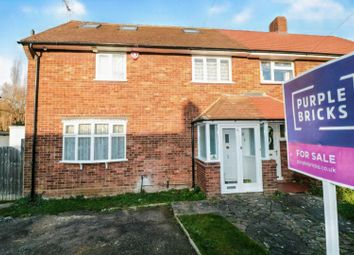 Thumbnail 4 bed semi-detached house for sale in Butlers Drive, Chingford