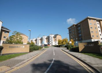Thumbnail 2 bed flat for sale in Drake Point, Chichester Wharf, Erith