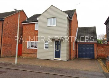 Thumbnail 3 bed detached house for sale in Craven Drive, Highwoods, Colchester