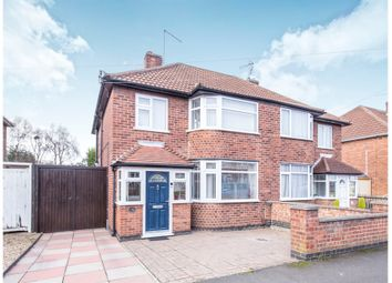 Thumbnail 3 bed semi-detached house for sale in Ashbourne Road, Wigston