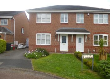 Thumbnail 3 bed semi-detached house to rent in Broomfield Close, Winsford