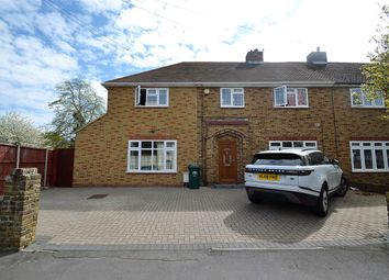 Thumbnail 4 bed semi-detached house to rent in Oaks Road, Stanwell, Staines