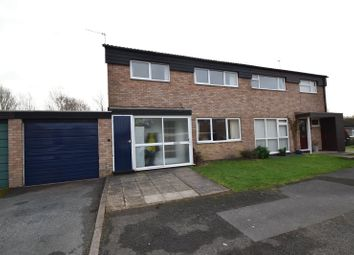 Thumbnail 3 bed semi-detached house for sale in Wey Close, Droitwich, Worcestershire