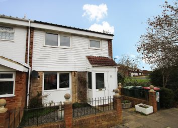 Thumbnail 3 bed end terrace house for sale in Colwyn Close, Crawley, West Sussex.