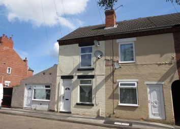 Thumbnail 2 bed end terrace house for sale in John Street, Worksop